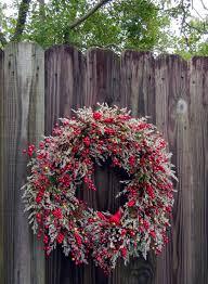 front door wreathChilling Handmade Winter Wreath Designs For Your Front Door