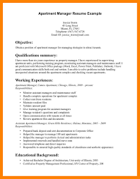 Maintenance Manager Resume Sample Apartment