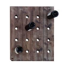 mountable wine rack wall mount wine rack hanging wine bottle and glass rack