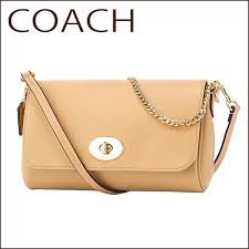 Coach outlet shoulder bags COACH OUTLET F34604 IMNUD bag mini Ruby cross  body female NUDE BEIGE (nude Beige) Beige Bag chain shoulder 2-WAY simple  cute