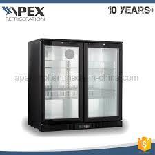 china commercial bottle beer for glass door under bar chiller china back bar fridge bar refrigerator