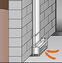 basement ventilation system. EZ Breath Basement Ventilation System A