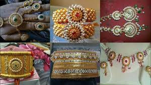 Shishfool Design All Rajputi Jewellery Set All Rajputi Aad Baju Punach Haar Hathfool Rakhdi Shishfool Golden Set