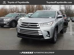 2018 New Toyota Highlander XLE V6 FWD at Fayetteville Autopark ...