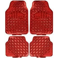 car floor mats for women. Amazon.com: BDK Universal Fit 4-Piece Metallic Design Car Floor Mat - (Red): Automotive Mats For Women N