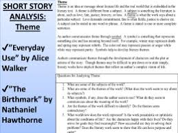"alice walker ""everyday use "" everyday use theme analysis essay"