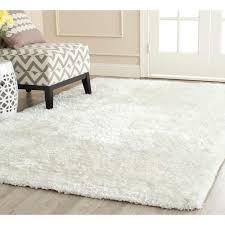 Living Room Area Rug Size Safavieh South Beach Shag Snow White 5 Ft X 8 Ft Area Rug