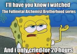 fullmetal alchemist meme | Tumblr via Relatably.com
