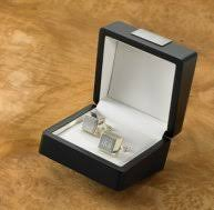 25th anniversary gifts for your husband silver anniversary cufflinks