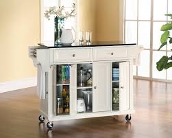 Granite Top Kitchen Island Cart Black Kitchen Island Cart With Granite Top Best Kitchen Ideas 2017