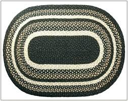 oval rug 8x10 braided jute rugs magnificent area