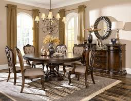 bonaventure park formal dining room set with round to oval table