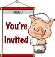 Image result for pig roast - you're invited