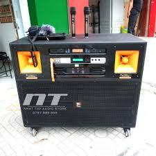 Loa kéo điện công suất lớn Prosing J97 Pro , Dàn karaoke gia đình cao cấp  hát karaoke chất lượng bass đôi 40 - Hệ thống âm thanh giải trí tại gia