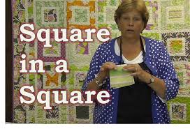 Make the Square in a Square Quilt Tutorial - YouTube &  Adamdwight.com