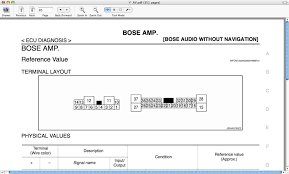 who wants bose wiring diagrams nissan z forum this is the main harness that comes out of your bose amp also from what i have seen the wiring is exactly the same for the bose model nav
