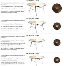 60 inch round table seats how many