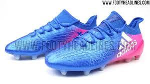 blue blast adidas x 16 2017 boots leaked