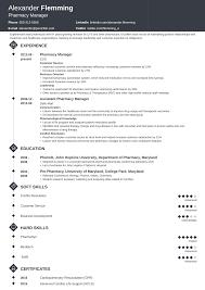 Clinical Pharmacist Resume 21452 Densatilorg