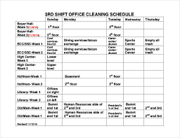 week time schedule template shift schedule templates 12 free word excel pdf format