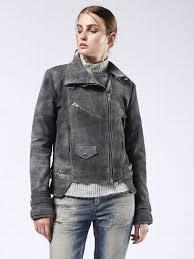 las sel l clelia leather jackets aw 16 dark grey sel motors of sel newest