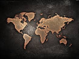 Map Of The World Background World Map Background Material World Map Earth Background Image