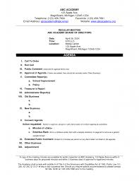Agreement Sample Of Agenda Meeting Format Simple Loan Contract Happy