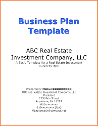 Business Plan Cover Page Examples Bepatient221017 With Business