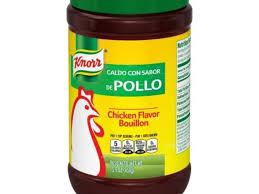 en granulated bouillon nutrition