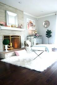 Fur Floor Rugs Fuzzy Area Rugs Big White Fluffy Rug Fluffy White ...