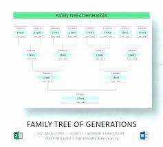Family Tree Flow Chart Excel Family Tree Templates 54 Awesome Family Tree Flow Chart