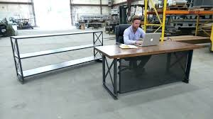 custom made office desks. Iron Age Office Custom Made Desks Buy A Handmade The Industrial  Desk To Order From Reviews Custom Made Office Desks