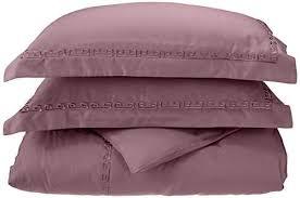 embroidery greek key border lavender