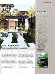 outdoor rooms profile on the surrey hills project by melbourne garden design company ian barker gardens