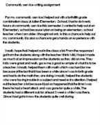 community service application essay how do i write a community service essay pictures