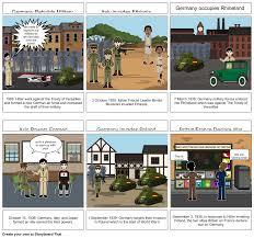WWll Timeline Storyboard by d7764ff0