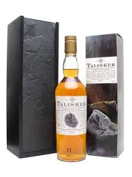 talisker 10 year old slate gift box scotch whisky the whisky exchange