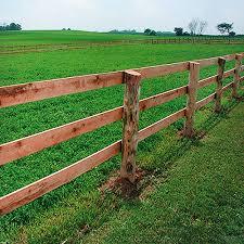 Wood farm fence Cedar Board Horse Fence Secure Access Llc Board Horse Fencing wood Fencing Ramm