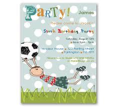 Football Party Invitations Templates Free Football Themed Invitation Template Fwauk Com
