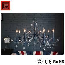 top quality modern iron chandelier crystal singletier chandeliers 8838 8