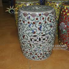 chinese garden stool. Plain Chinese Chinese Ceramic Antique Furniture White Ottoman Or Garden Stools To Stool S
