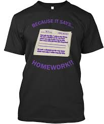 Print Home Work Because It Says Homework Purple Print Homework Home Work Premium