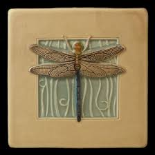 Dragonflies Wall Decor Art Tile Dragonfly Wall Decor 4 X 4 Inches Wall Decor Tile