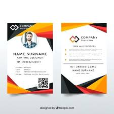 Identification Card Samples 8 Best Company Id Card Templates Ms Word Word Id Card