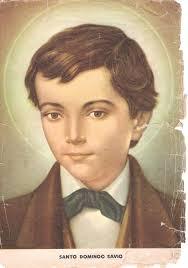 Santo Domingo Savio Mayo 6. Joven estudiante de Don Bosco muri.