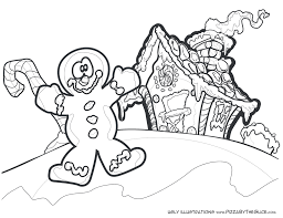 Small Picture Christmas Coloring Pages Gingerbread Coloring Pages