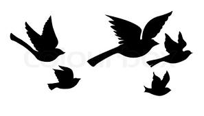 flying birds tattoo clipart.  Flying Wonderful Tattoo Of Flying Bird Silhouette Intended Birds Clipart I