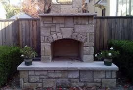 outdoor fireplace kits diy