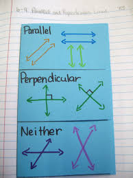 outside of parallel and perpendicular lines foldable
