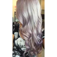 Light Purple And Silver Hair Silver Lilac Icy Blonde Hair By Caitlin